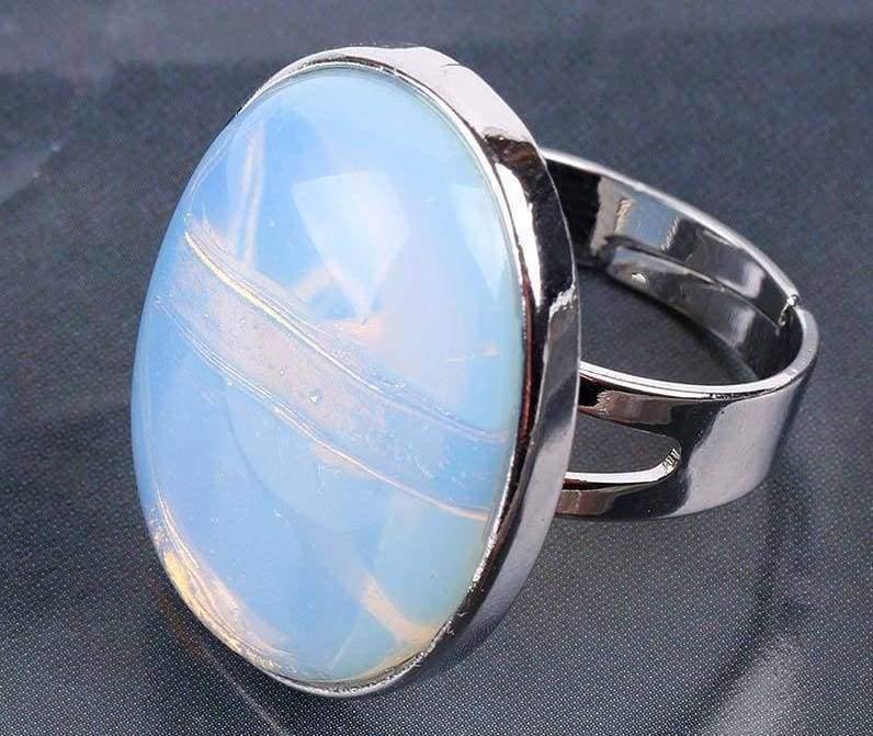 Amazing Oval gemstone ring - Opal - Rings