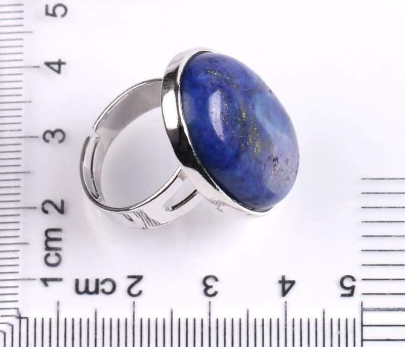 Amazing Oval gemstone ring - Rings