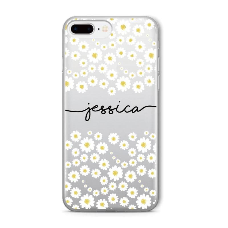 Personalized Custom Name iPhone Case - 5-Black Text / For Samsung S7 - Fitted Cases