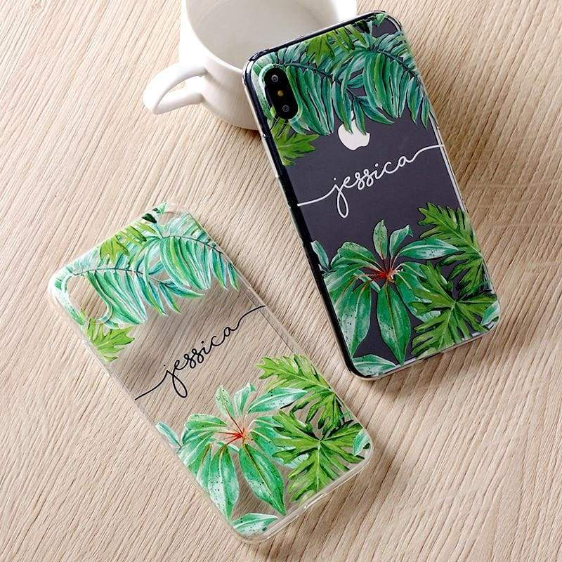 Personalized Custom Name iPhone Case - Fitted Cases