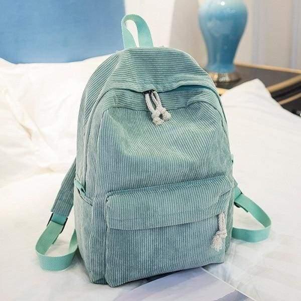 Preppy Style Soft Fabric Backpack Female - 1241c - Backpacks