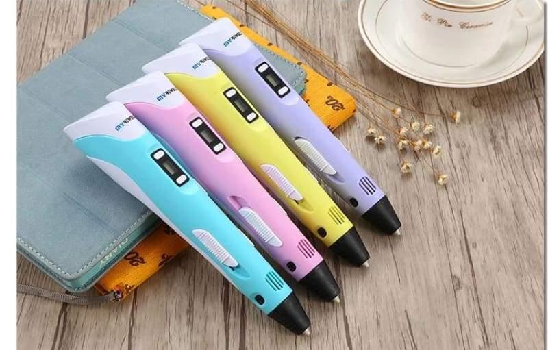 Professional 3d Printing Pen - Pink AU - Professional 3d Printing Pen