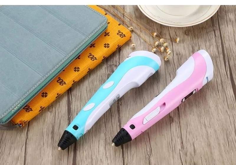Professional 3d Printing Pen - Pink EU - Professional 3d Printing Pen