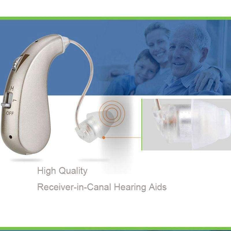 Rechargeable Digital Hearing Aid - Ear Care