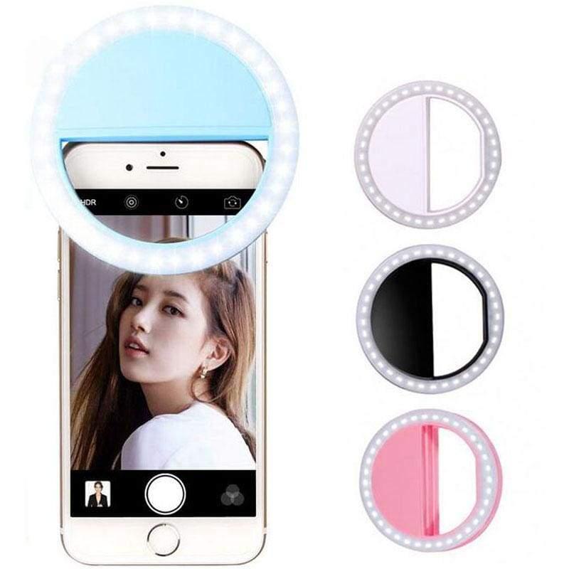 Selfie Light - White - Mobile Phone Lenses