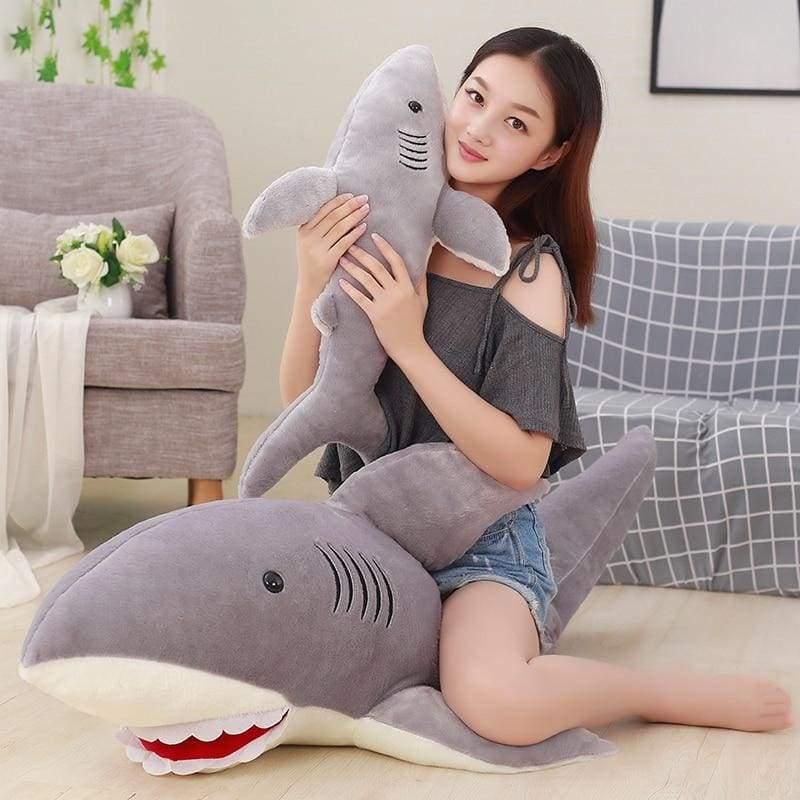 Sharky Pillow Plush Toy - Stuffed & Plush Animals