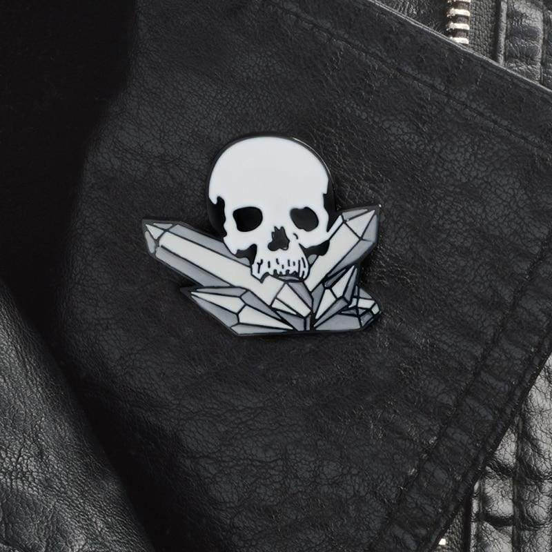 Skeleton Pin Brooches - Brooches