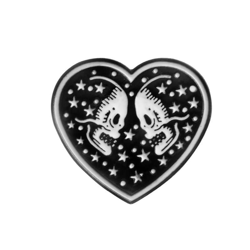 Skeleton Pin Brooches - style2 - Brooches