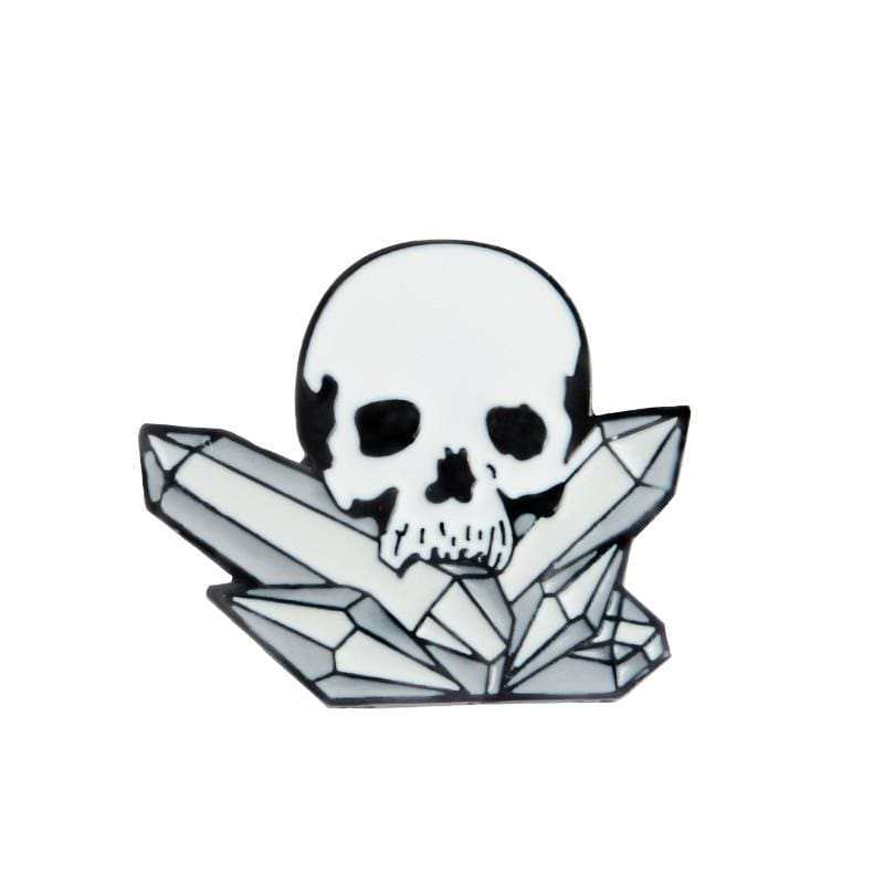 Skeleton Pin Brooches - style6 - Brooches