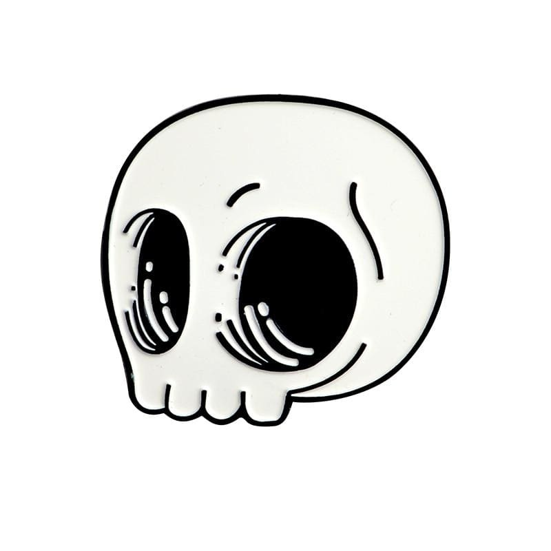 Skeleton Pin Brooches - style9 - Brooches