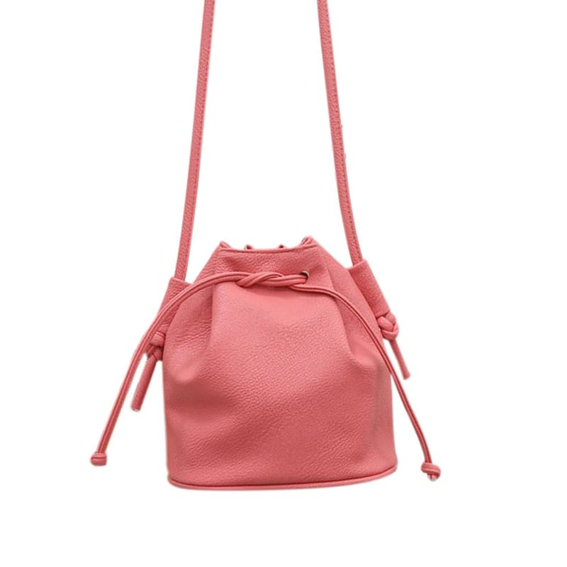 Small Womens Messenger Bag - Pink - Shoulder Bags