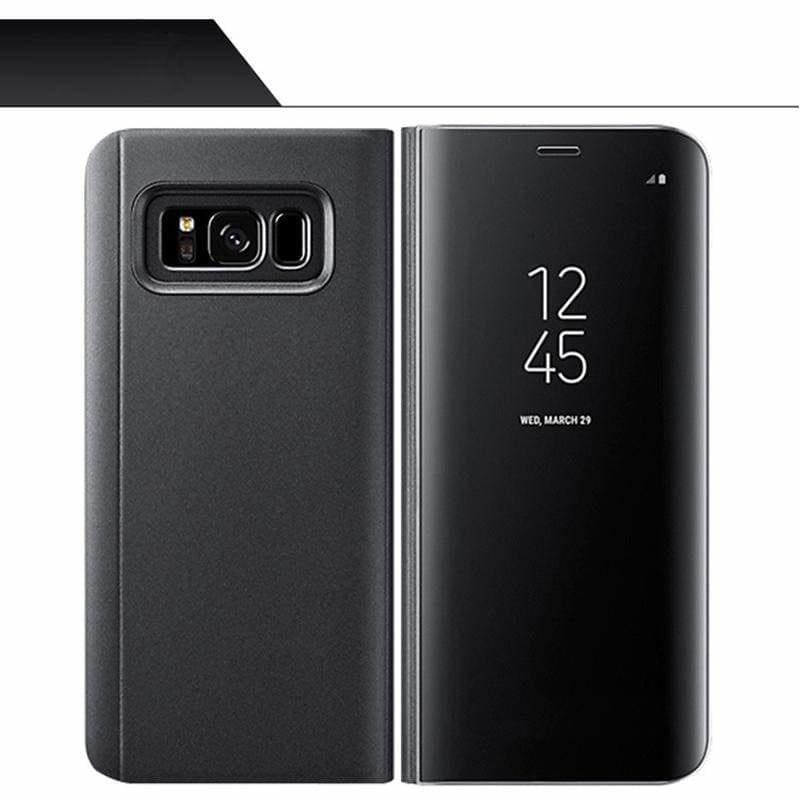 Smart Chip Case Flip Cover Samsung Smart Phone Just For You - Black / For S7 Edge - Flip Cases