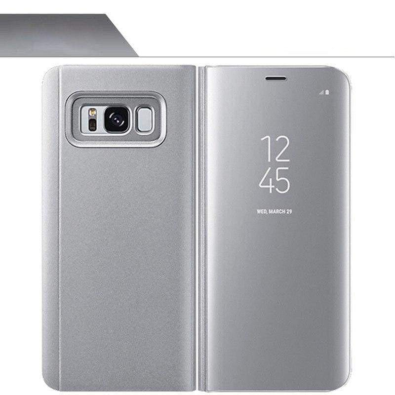 Smart Chip Case Flip Cover Samsung Smart Phone Just For You - Silvery / For S7 Edge - Flip Cases