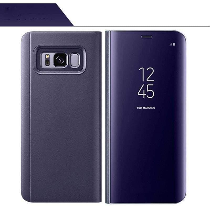 Smart Chip Case Flip Cover Samsung Smart Phone Just For You - Violet / For S7 Edge - Flip Cases
