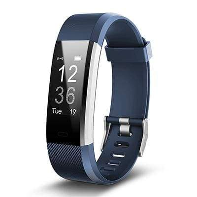 Smart Sports Wristband Plus HR Fitness Tracker - BLUE - Smart Wristbands