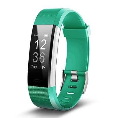 Smart Sports Wristband Plus HR Fitness Tracker - GREEN - Smart Wristbands