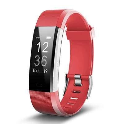 Smart Sports Wristband Plus HR Fitness Tracker - RED - Smart Wristbands