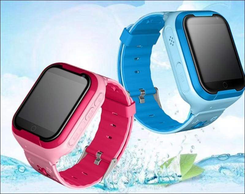 Smart Watch For Kids With 4G GPS Wifi Tracker - Pink - Smart Watches