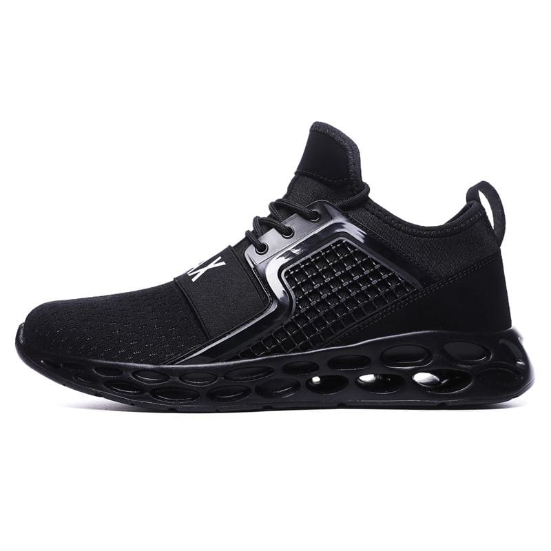 Sneakers Breathable Casual Shoes - black1 / 11.5 - Mens Casual Shoes