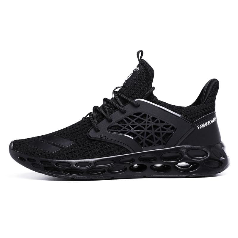 Sneakers Breathable Casual Shoes - Black2 / 11.5 - Mens Casual Shoes