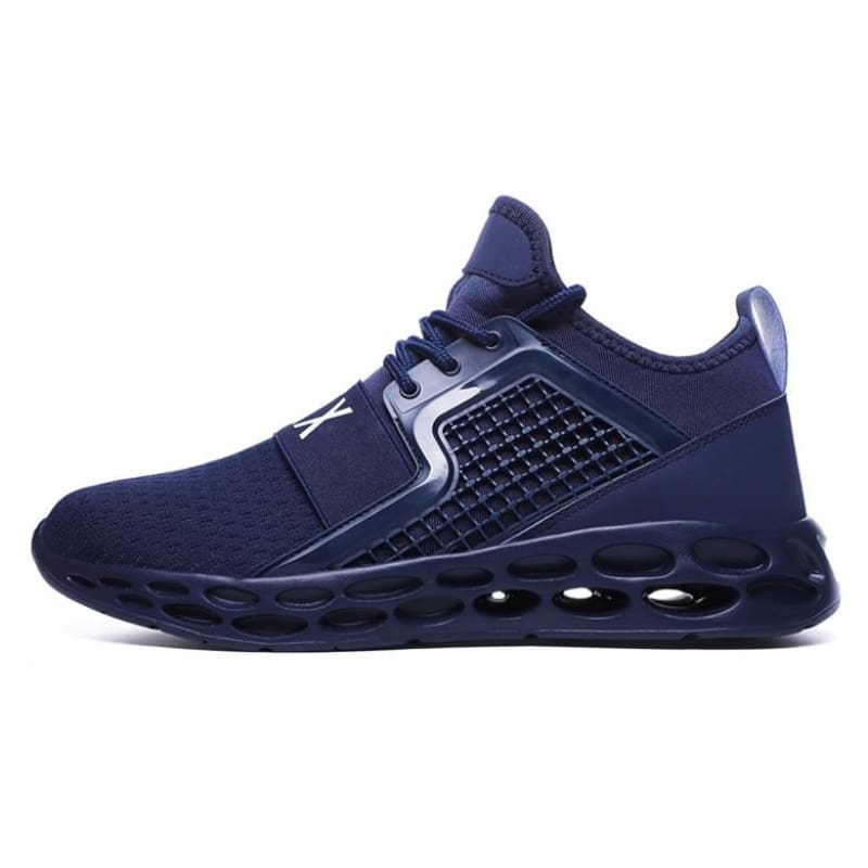 Sneakers Breathable Casual Shoes - darkblue1 / 6.5 - Mens Casual Shoes