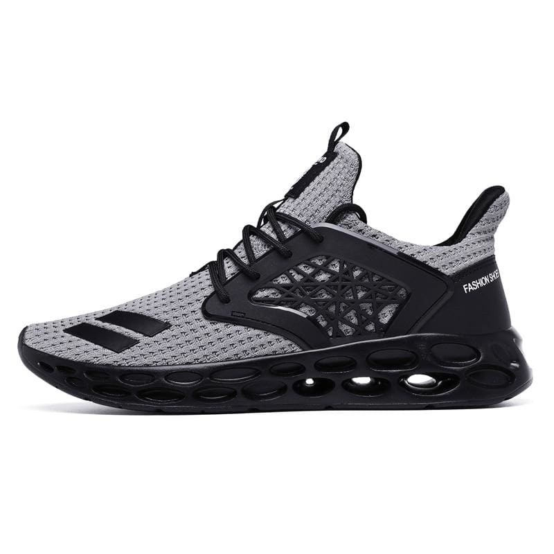 Sneakers Breathable Casual Shoes - grey2 / 11.5 - Mens Casual Shoes