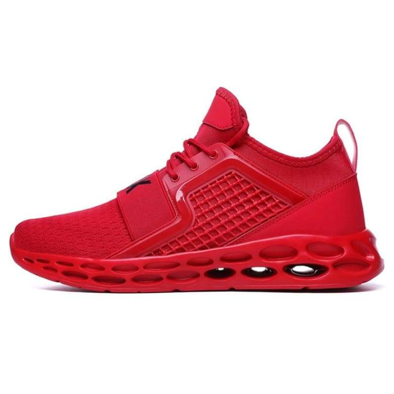 Sneakers Breathable Casual Shoes - red1 / 11.5 - Mens Casual Shoes
