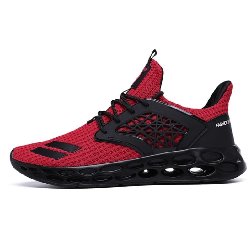 Sneakers Breathable Casual Shoes - Red2 / 11.5 - Mens Casual Shoes