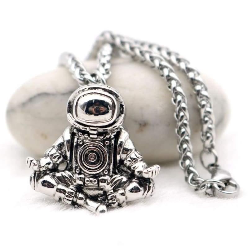 Spaceman Astronaut Pendant - Pendant Necklaces