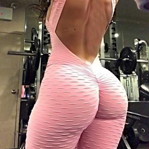 Sportswear Fitness Wear Just For You - Pink / L - Yoga Sets