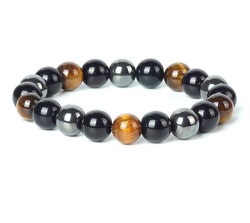 Stone Magnetic Health Bracelet - 3 Color / About 19cm - Bracelets & Bangles