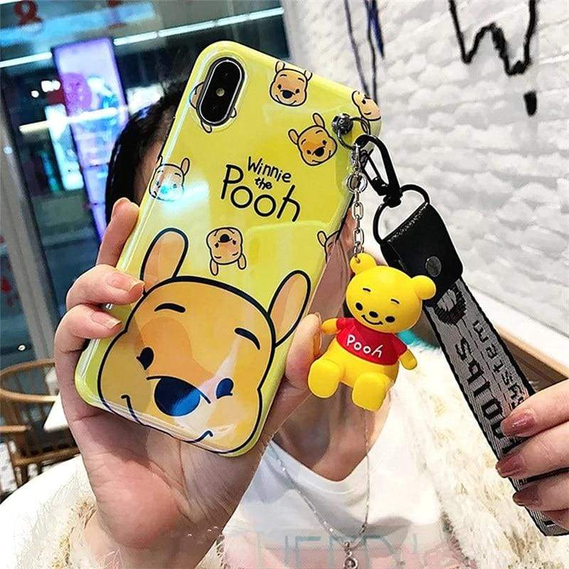 Super-Cute Characters Animated Phone Case - e / for iphone 6 6s / Case & Strap - Fitted Cases
