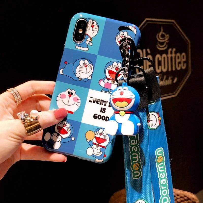 Super-Cute Characters Animated Phone Case - g / for iphone 6 6s plus / Case & Strap - Fitted Cases