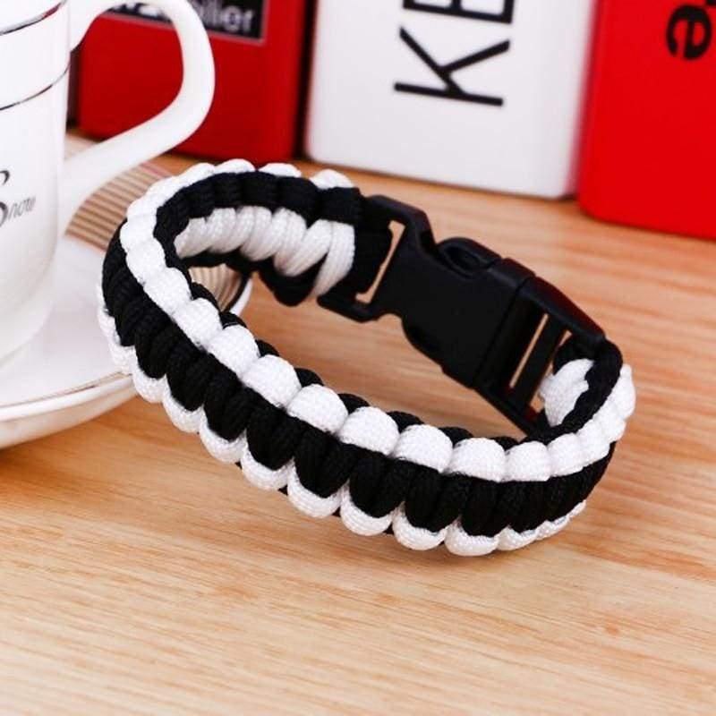 Survival Paracord Bracelet - Chain & Link Bracelets