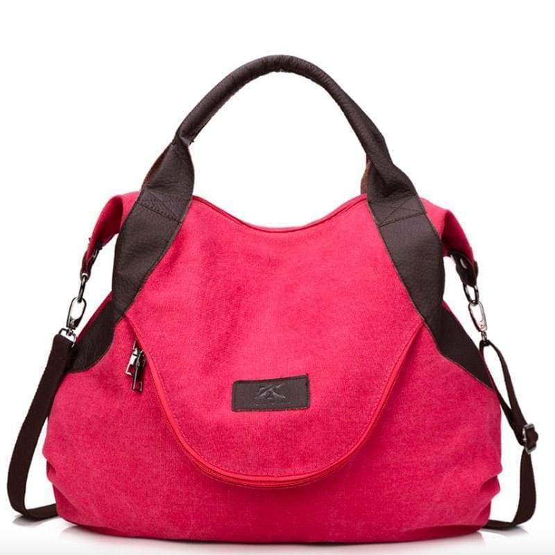 The canvas tote handbag - Shoulder Bags