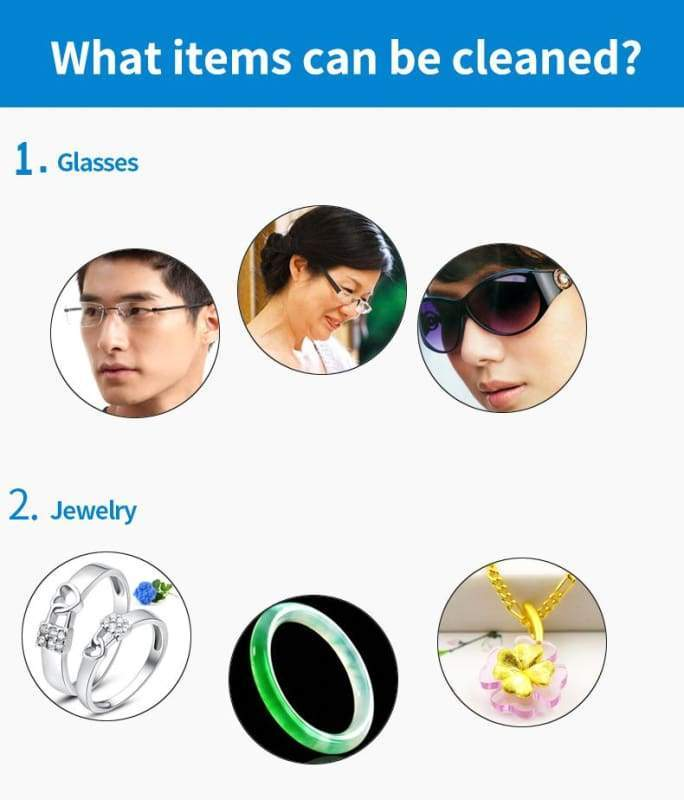 Ultrasonic Jewelry Cleaner - electronic jewelry cleaner