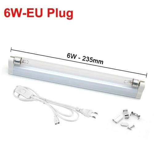 Ultraviolet Lamp Disinfection Sterilizer Tube - 6W With EU Plug - UV Lamps1
