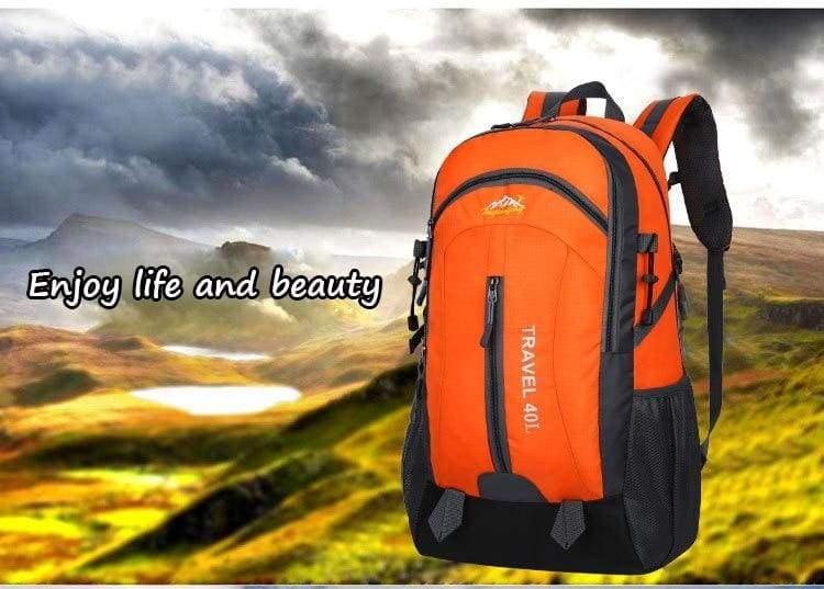 USB Charging Waterproof Backpack - Backpacks