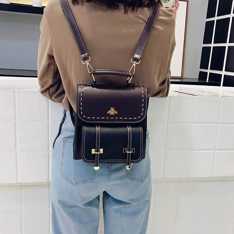 Vintage Leather Backpack Just For You - Backpacks