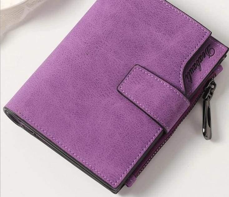 Wallets Cards Holders - Purple - Wallet
