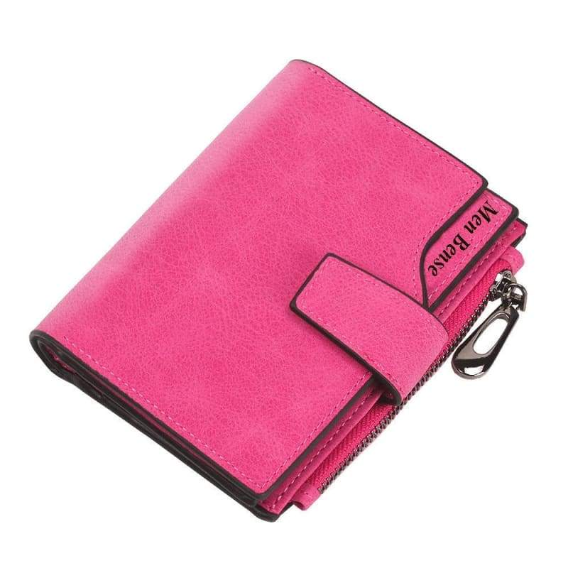 Wallets Cards Holders - Rose red - Wallet