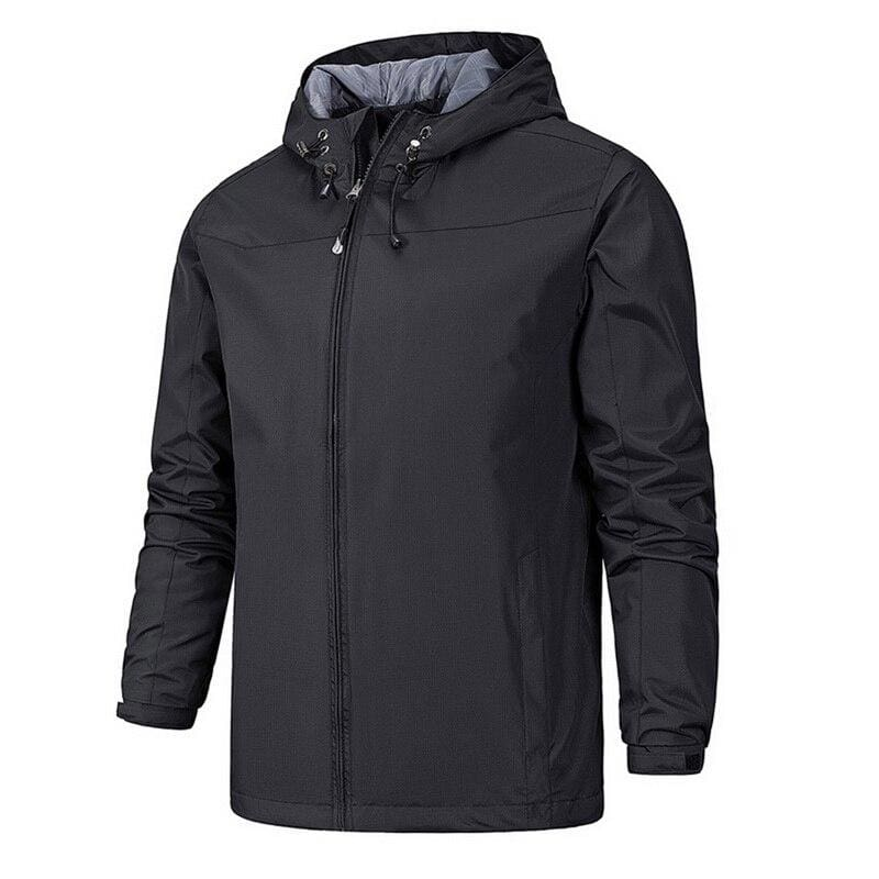 Waterproof Coat Windproof Warm Just For You - 01 black 61 / 4XL - Hiking Jackets