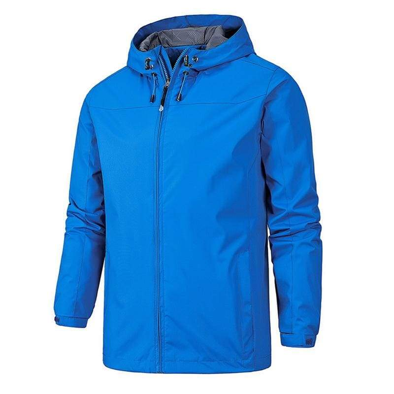Waterproof Coat Windproof Warm Just For You - 01 blue 5 / 4XL - Hiking Jackets