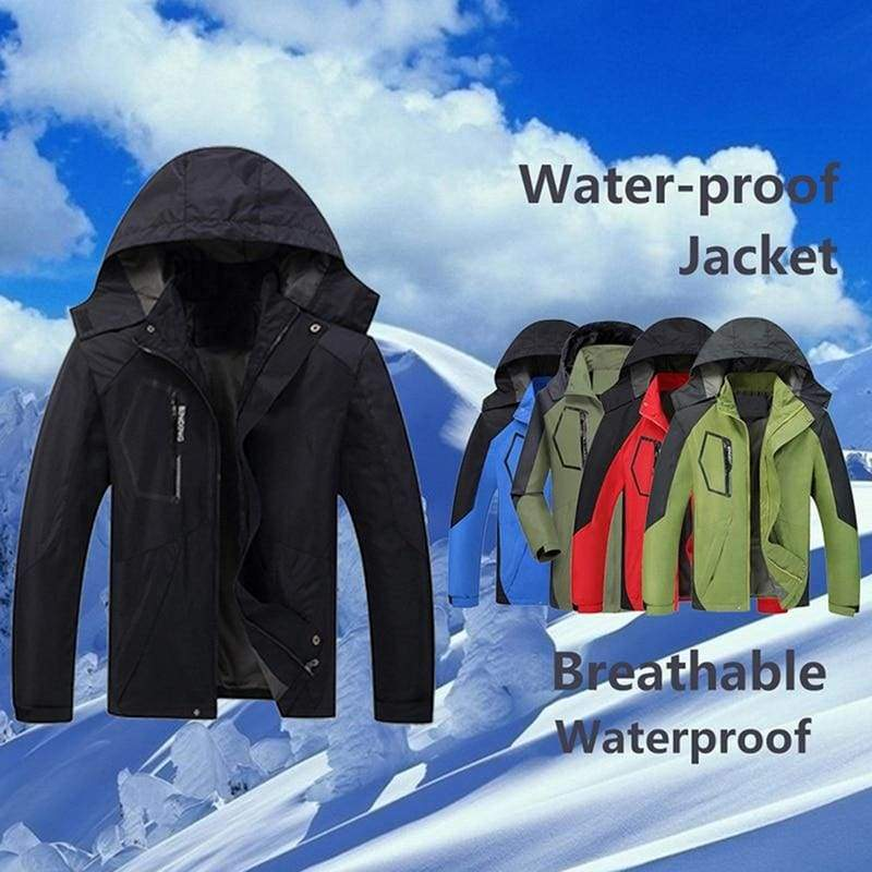Waterproof Coat Windproof Warm Just For You - Hiking Jackets