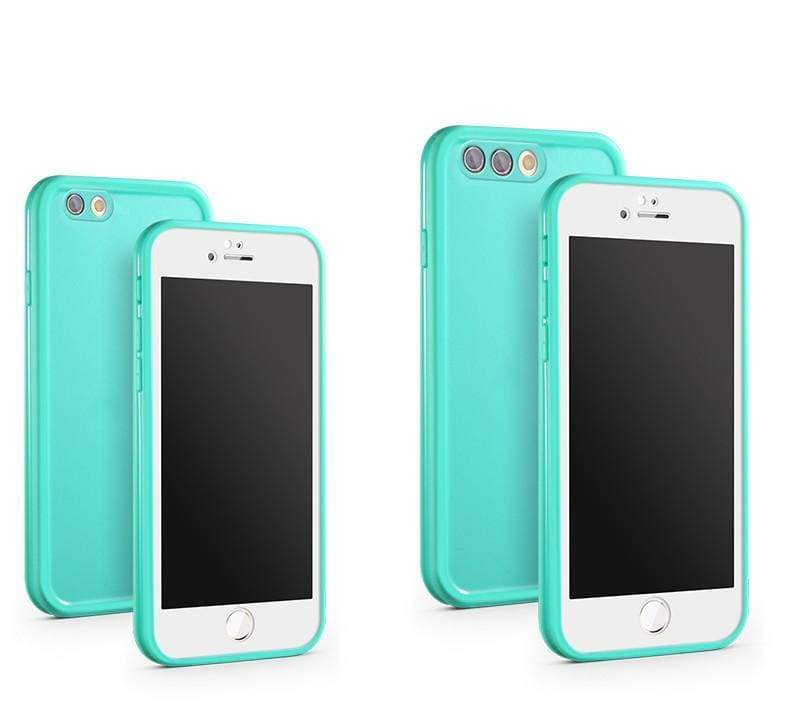 Waterproof Phone Case for iPhone - Green / For iPhone X - Fitted Cases