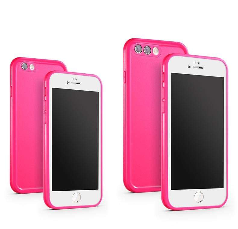 Waterproof Phone Case for iPhone - Rose / For iPhone X - Fitted Cases