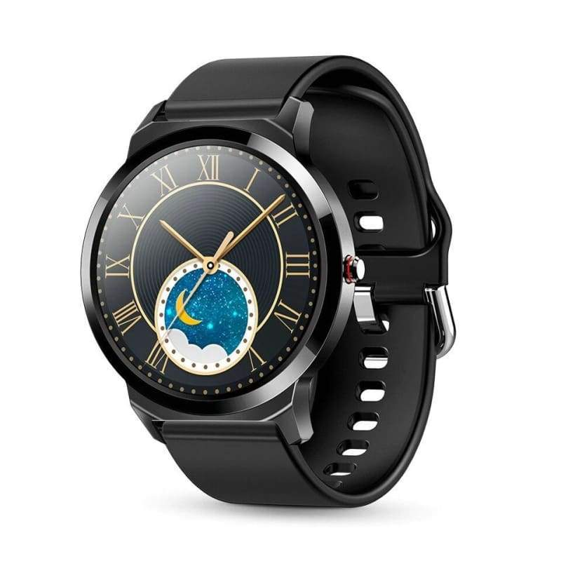 Waterproof Smart Watch Just For You - Silicone Black - Smart Watches1