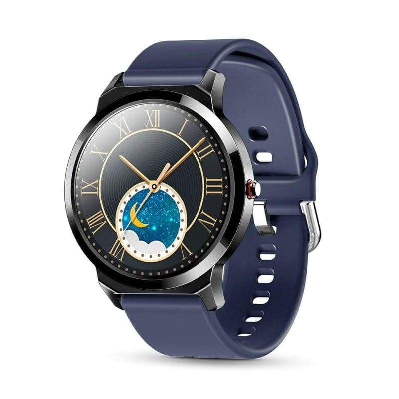 Waterproof Smart Watch Just For You - Silicone Blue - Smart Watches1