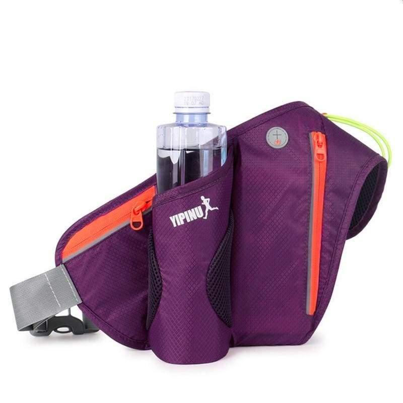 Water waist pack for outdoor sport - Purple - Running Bags