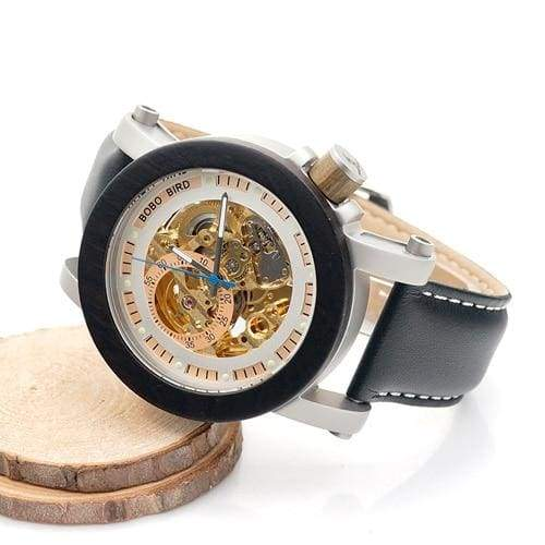 Wooden Watch Automatic For Men and Women - Watches